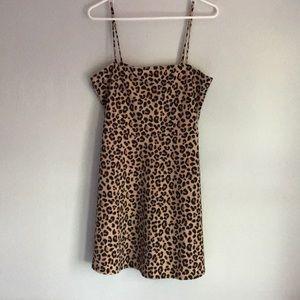 H&M NWT Leopard Print Dress